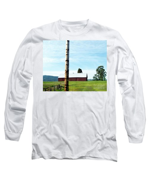 Long Sleeve T-Shirt featuring the photograph Simplicity by Bobbee Rickard