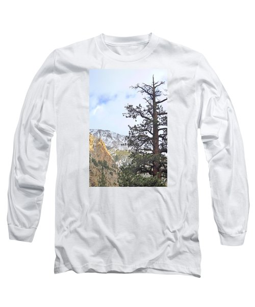 Long Sleeve T-Shirt featuring the photograph Simply by Marilyn Diaz