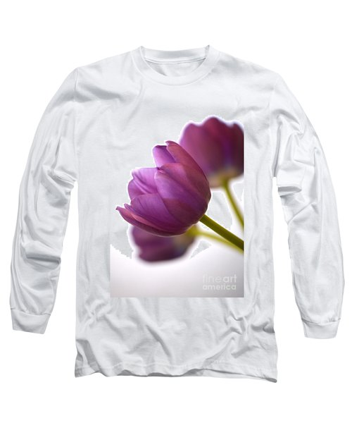 Simply Purple Long Sleeve T-Shirt by Deb Halloran
