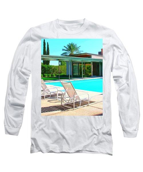 Sinatra Pool Palm Springs Long Sleeve T-Shirt