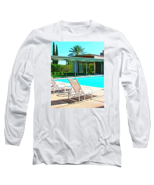 Sinatra Pool Palm Springs Long Sleeve T-Shirt