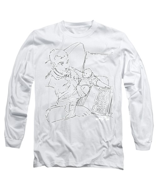 Sing Me To Sleep Daddy Long Sleeve T-Shirt by Olimpia - Hinamatsuri Barbu
