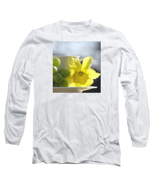 Sipping Spring Long Sleeve T-Shirt