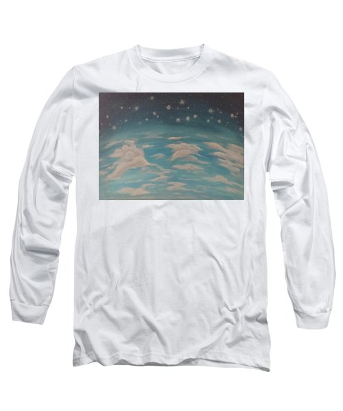 Sitting On Top Of The World Long Sleeve T-Shirt by Thomasina Durkay