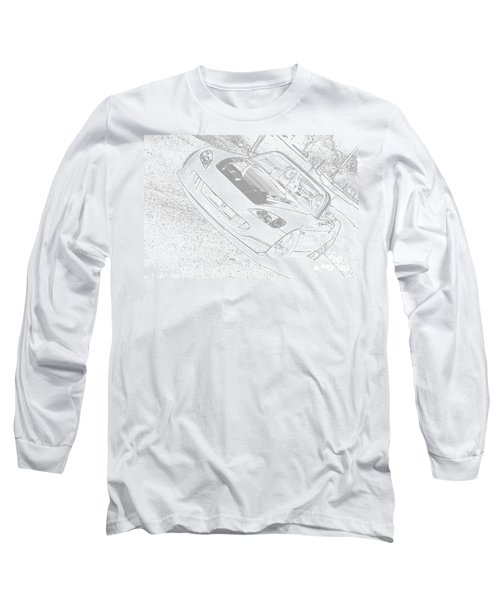 Sketched S2000 Long Sleeve T-Shirt