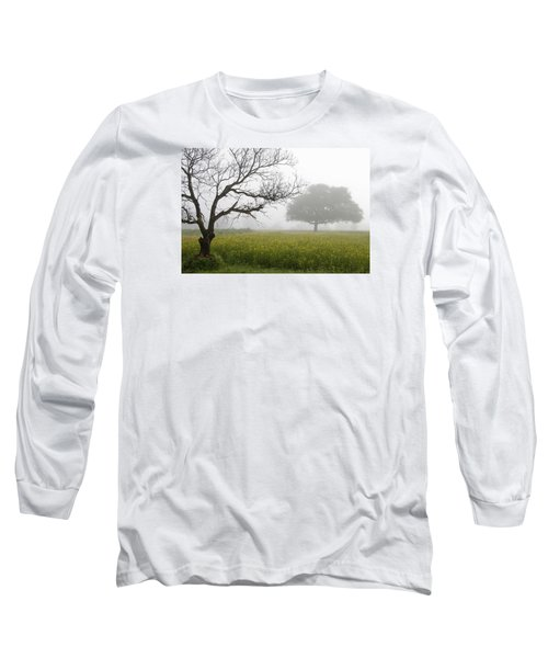 Long Sleeve T-Shirt featuring the photograph Skc 0058 Contrasty Trees by Sunil Kapadia