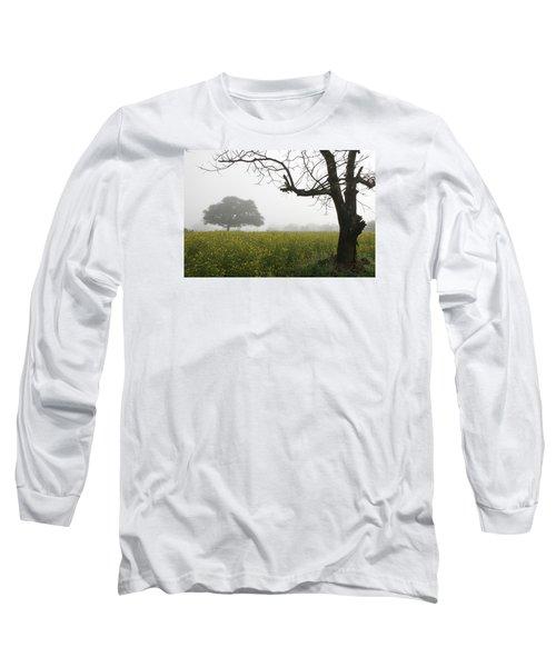 Long Sleeve T-Shirt featuring the photograph Skc 0060 Framed Tree by Sunil Kapadia