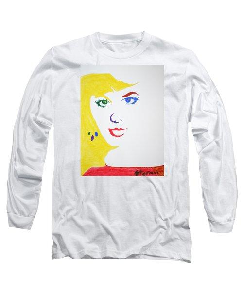 Blonde Mother Nature Long Sleeve T-Shirt