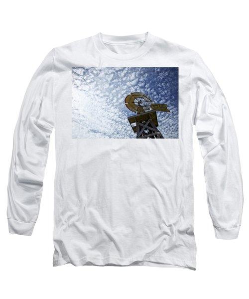 Skyward Long Sleeve T-Shirt by Erika Weber