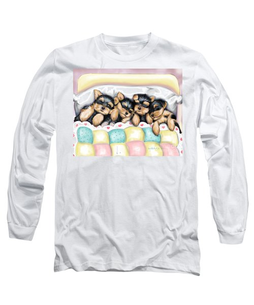 Sleeping Babies Long Sleeve T-Shirt