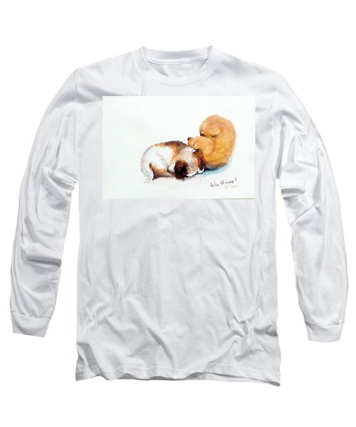 Sleeping Puppies Long Sleeve T-Shirt