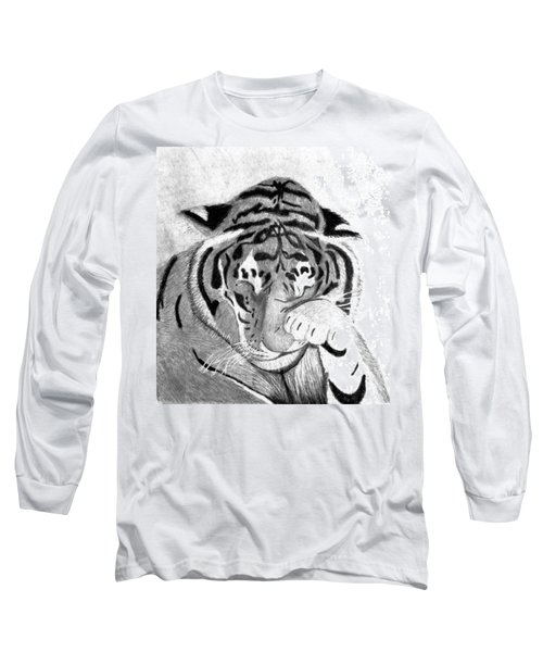 Sleepy Tiger Long Sleeve T-Shirt