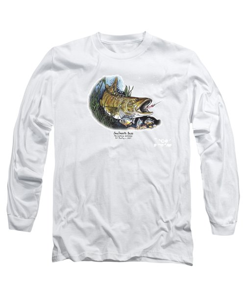Smallmouth Bass Long Sleeve T-Shirt