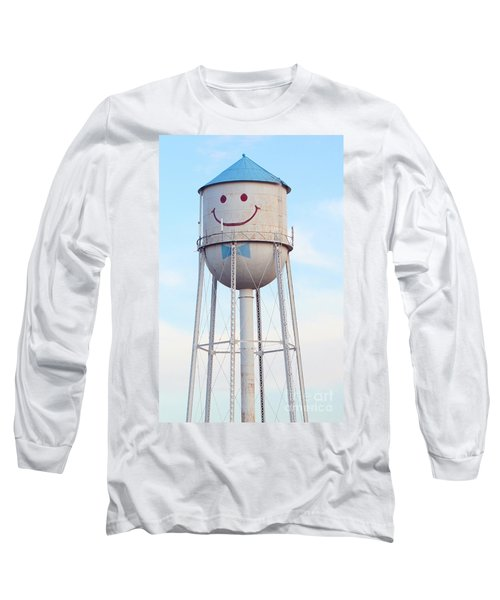 Smiley The Water Tower Long Sleeve T-Shirt