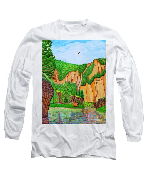Smith River Montana Long Sleeve T-Shirt