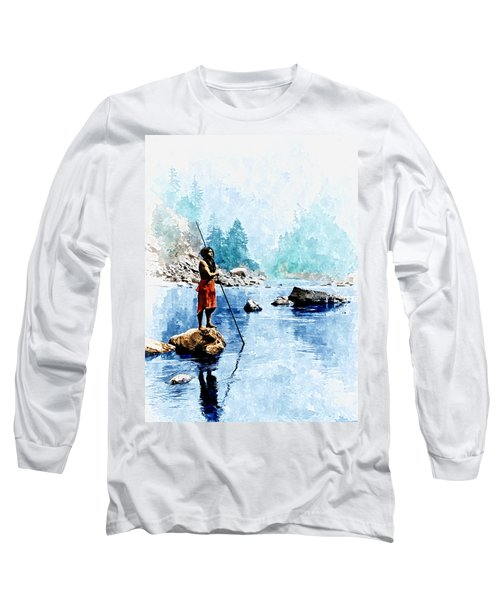 Smoky Day At The Sugar Bowl Long Sleeve T-Shirt