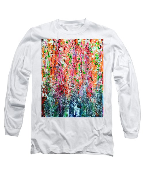 Snapdragons II Long Sleeve T-Shirt by Alys Caviness-Gober