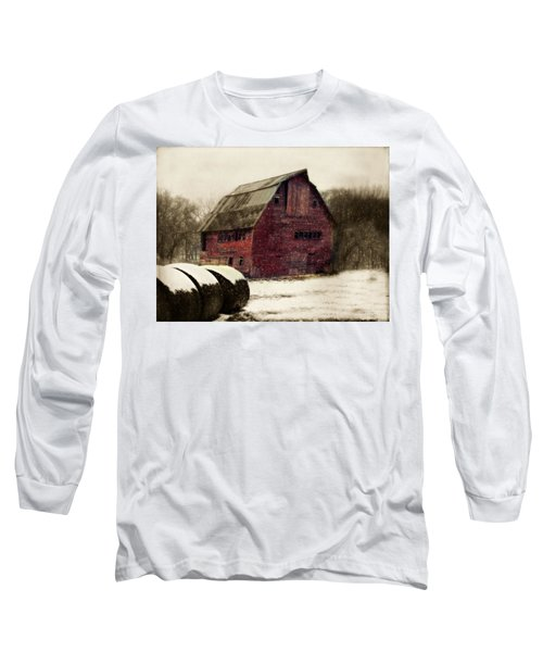 Snow Bales Long Sleeve T-Shirt