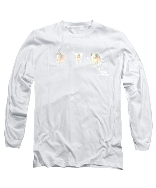 Snow Dance Long Sleeve T-Shirt by Carol Lynn Coronios