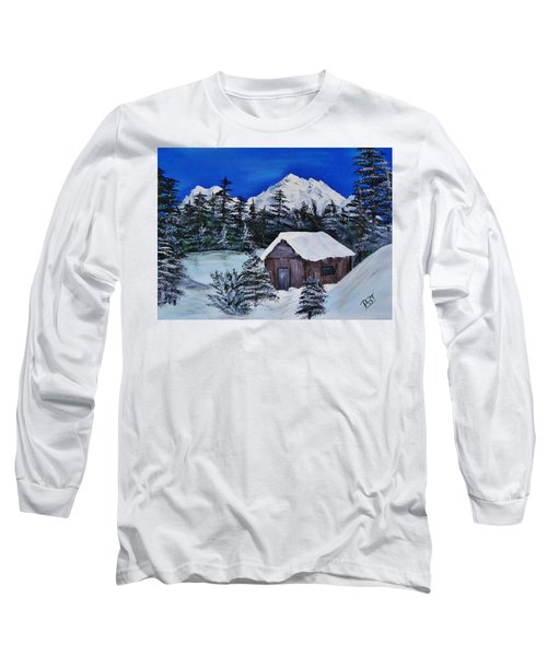 Snow Falling On Cedars Long Sleeve T-Shirt