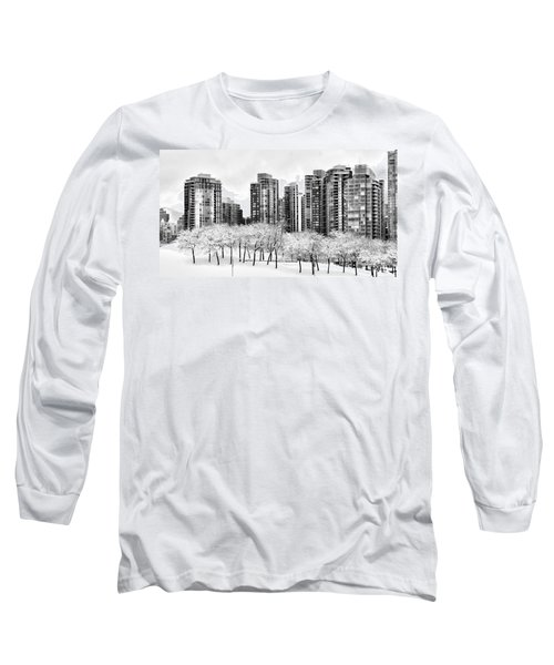 Snow In The City Long Sleeve T-Shirt