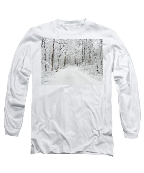 Snow In The Park Long Sleeve T-Shirt