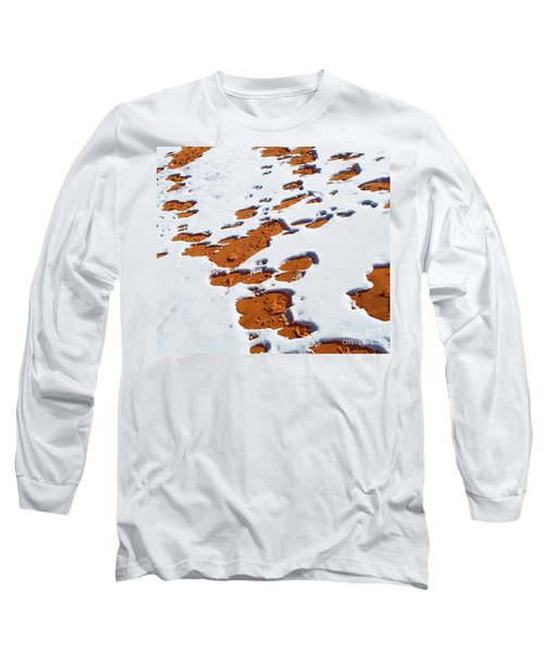 Snow On Dunes Long Sleeve T-Shirt