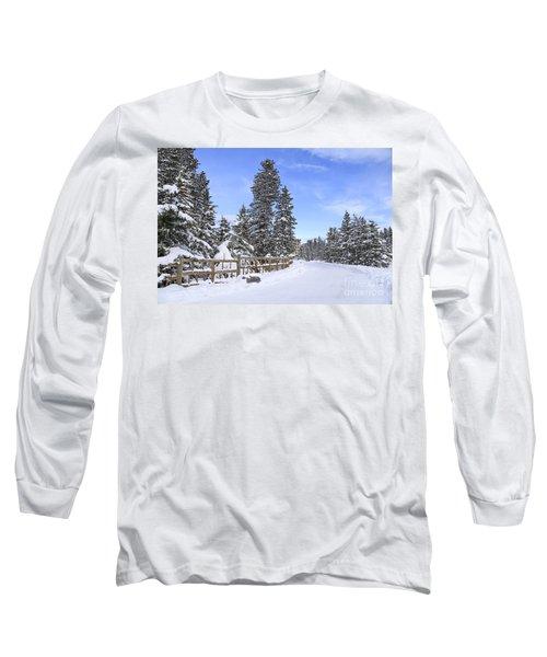 Snow Path Long Sleeve T-Shirt