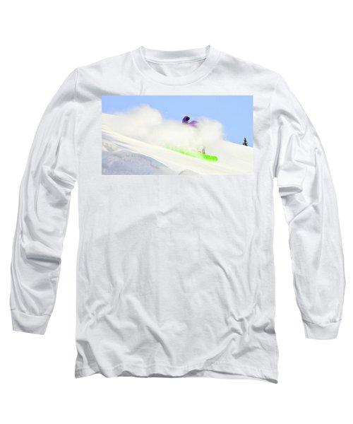 Snow Spray Long Sleeve T-Shirt