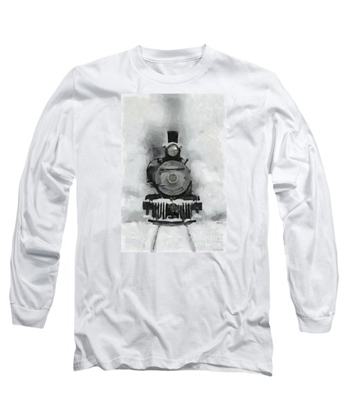 Snow Train Long Sleeve T-Shirt