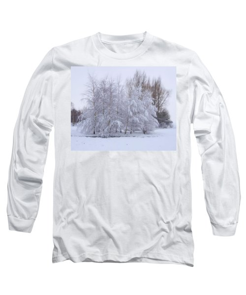Snow Trees Long Sleeve T-Shirt
