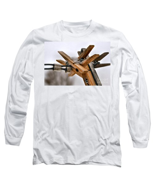 Winter Laundry Day Long Sleeve T-Shirt