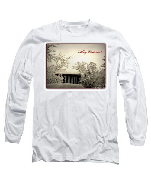 Snowy Christmas Long Sleeve T-Shirt