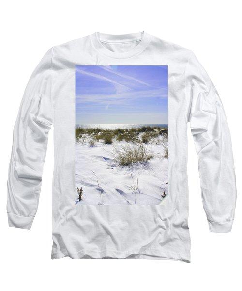 Snowy Dunes Long Sleeve T-Shirt