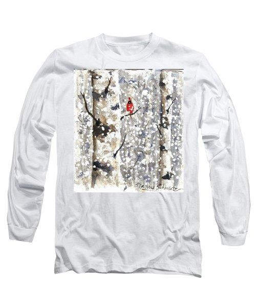 Snowy Hello Long Sleeve T-Shirt