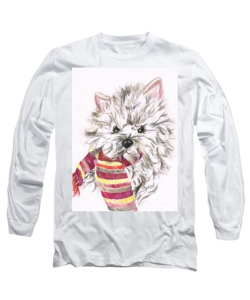 Snowy  Long Sleeve T-Shirt by Teresa White