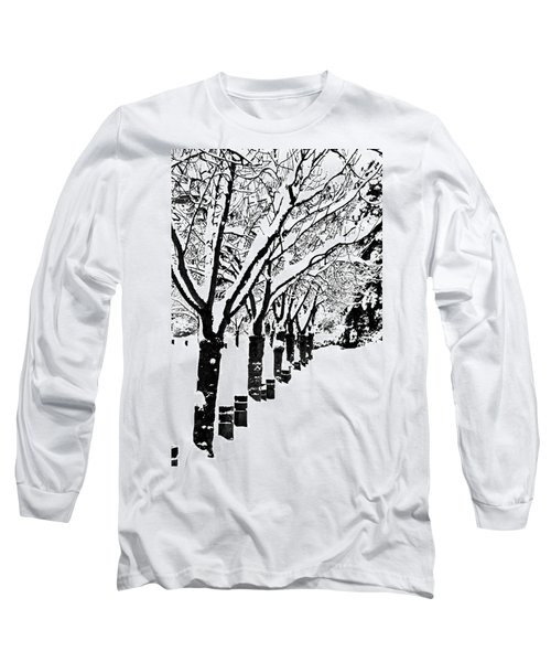 Snowy Walk Long Sleeve T-Shirt