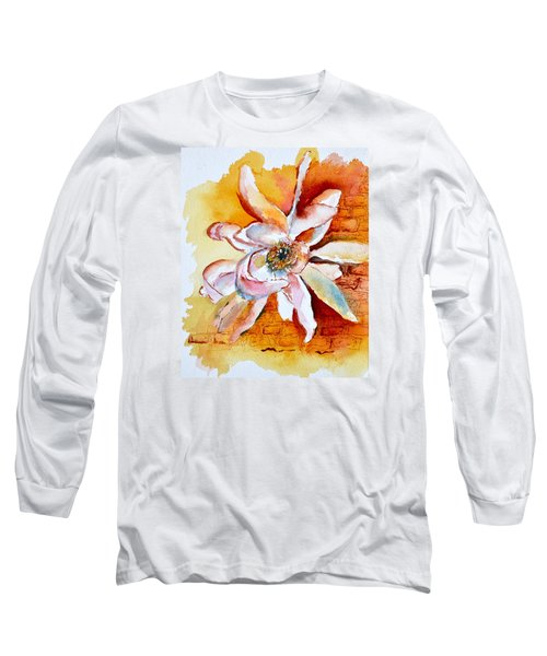 So The Wind Won't Blow It All Away Long Sleeve T-Shirt by Beverley Harper Tinsley