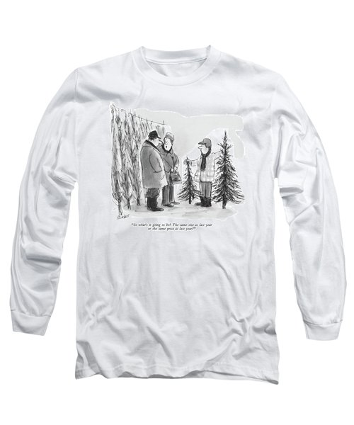 So What's It Going To Be?  The Same Size As Last Long Sleeve T-Shirt