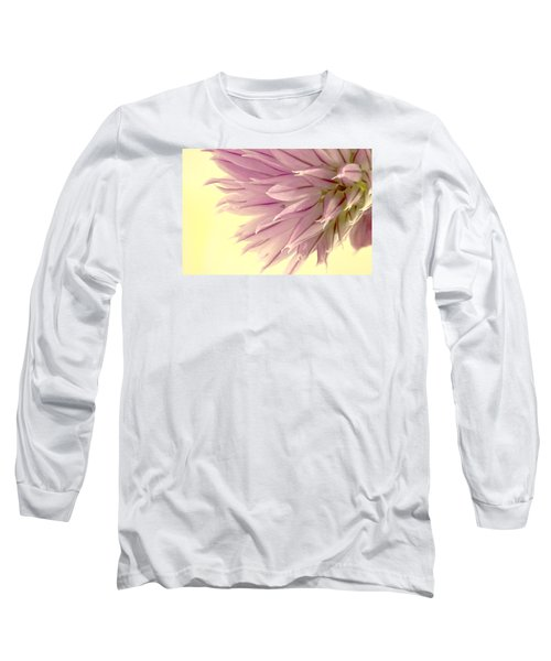Soft And To The Point Long Sleeve T-Shirt by Sandra Foster