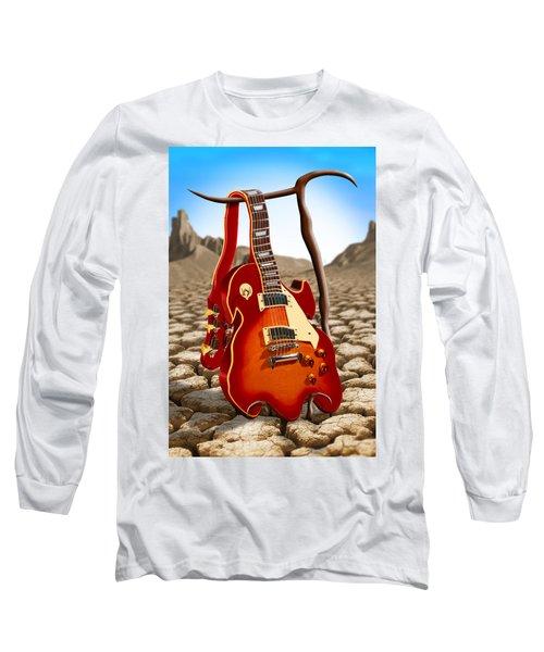 Soft Guitar Long Sleeve T-Shirt