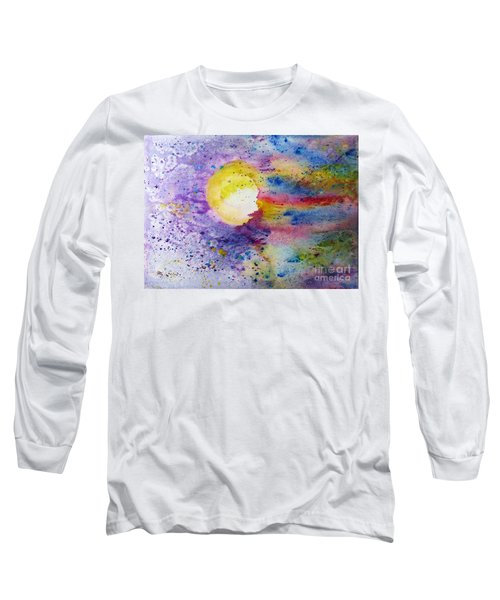 Solar Flair Long Sleeve T-Shirt by Desiree Paquette