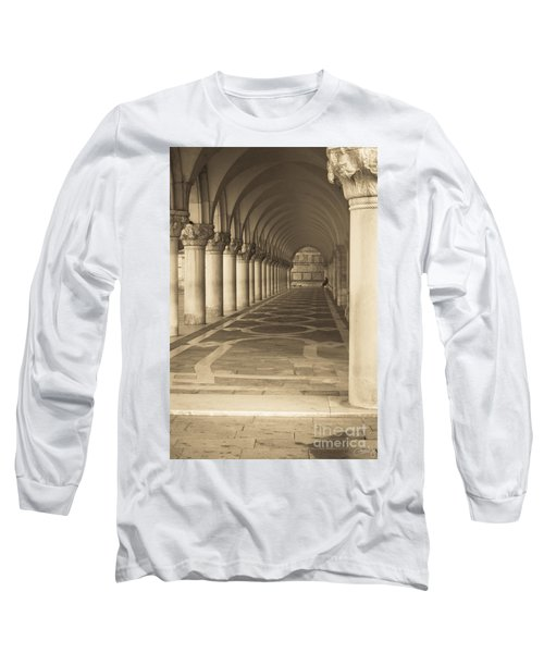 Solitude Under Palace Arches Long Sleeve T-Shirt