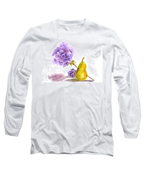 Long Sleeve T-Shirt featuring the painting Sometimes Love Hurts by Paula Ayers
