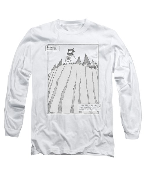 Somewhere In America Long Sleeve T-Shirt