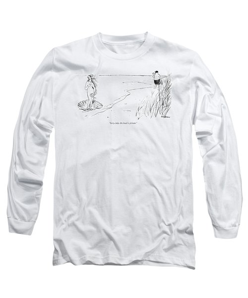 Sorry, Lady, This Beach Is Private Long Sleeve T-Shirt