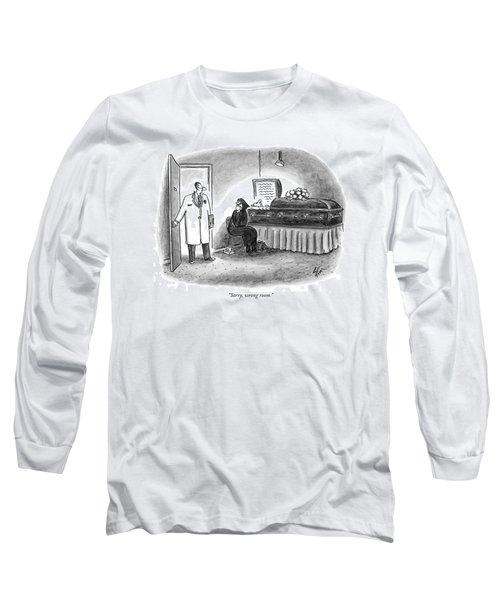 Sorry, Wrong Room Long Sleeve T-Shirt