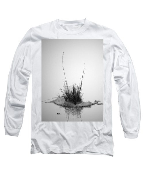Long Sleeve T-Shirt featuring the painting Soul Etude by A  Robert Malcom