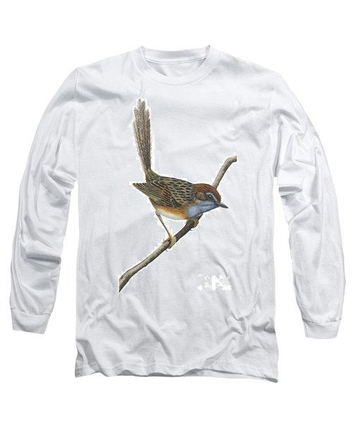 Southern Emu Wren Long Sleeve T-Shirt