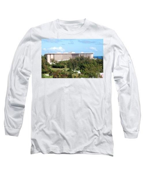Southhampton Princess Bermuda Long Sleeve T-Shirt by Ian  MacDonald